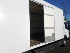 Vrachtwagen 30m3 met laadklep